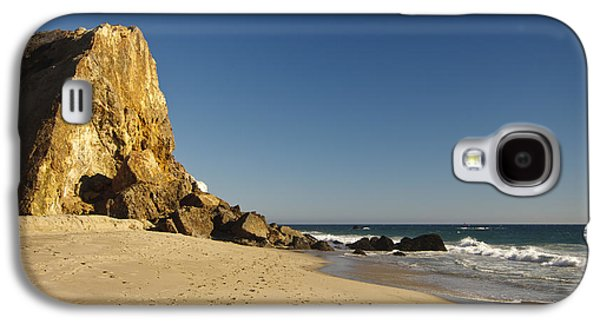 Landscapes Photographs Galaxy S4 Cases - Point Dume at Zuma Beach Galaxy S4 Case by Adam Romanowicz