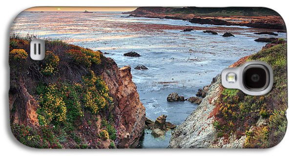 Big Sur Ca Galaxy S4 Cases - Point Lobos State Reserve 3 Galaxy S4 Case by Emmanuel Panagiotakis