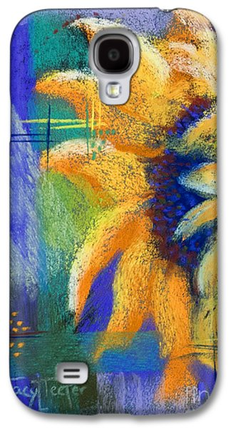 Window Pastels Galaxy S4 Cases - Point of View Galaxy S4 Case by Tracy L Teeter