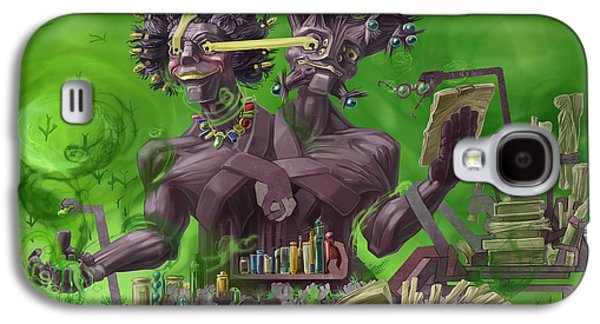 Monster Galaxy S4 Cases - Poison Galaxy S4 Case by Augustinas Raginskis