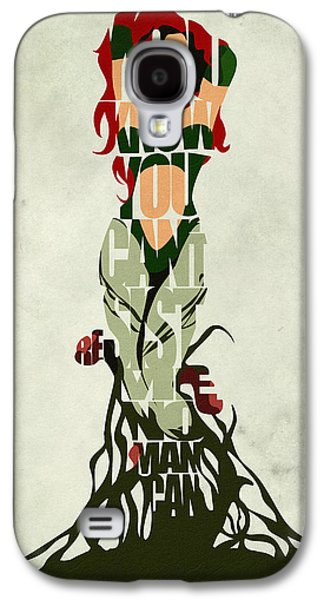 Minimalist Poster Galaxy S4 Cases - Poison Ivy Galaxy S4 Case by Ayse Deniz