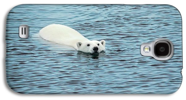 Polar Bear Swimming Galaxy S4 Case by Peter J. Raymond