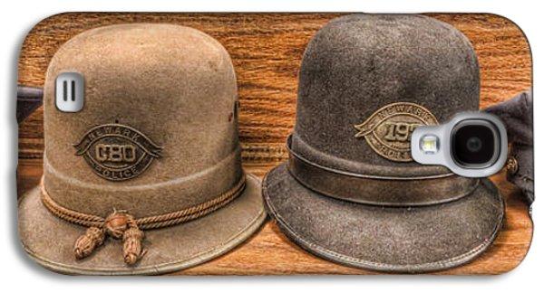 Police Officer - Vintage Police Hats Galaxy S4 Case by Lee Dos Santos