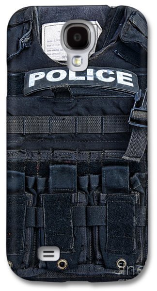 Police Officer Galaxy S4 Cases - Police - The Tactical Vest Galaxy S4 Case by Paul Ward
