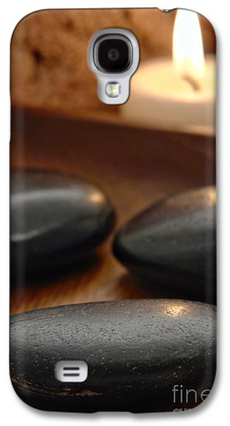 Stone Galaxy S4 Cases - Polished Stones in a Spa Galaxy S4 Case by Olivier Le Queinec