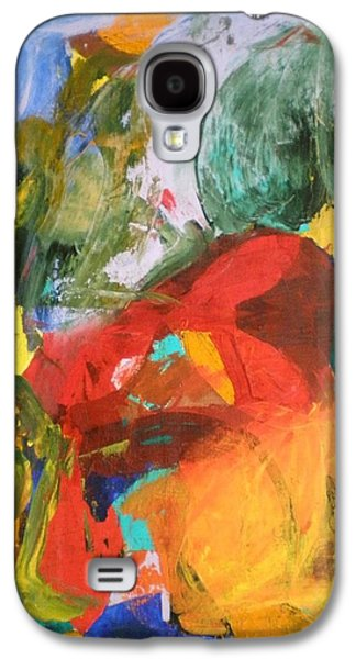 Dance Floor Paintings Galaxy S4 Cases - Polka Galaxy S4 Case by Ed Ciolina