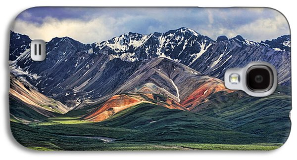 Mountain Photographs Galaxy S4 Cases - Polychrome Galaxy S4 Case by Heather Applegate
