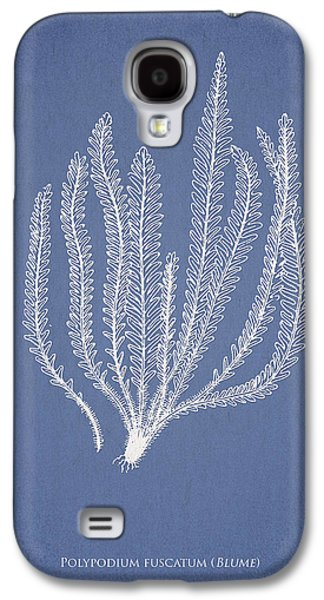 Ornamental Digital Art Galaxy S4 Cases - Polypodium fuscatum Galaxy S4 Case by Aged Pixel