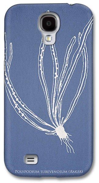 Ornamental Digital Art Galaxy S4 Cases - Polypodium subevenosum Galaxy S4 Case by Aged Pixel
