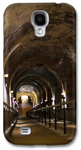 Winery Photography Galaxy S4 Cases - Pommery Champagne Winery Passageway Galaxy S4 Case by Panoramic Images