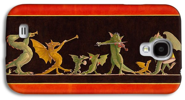 Leonard Filgate Paintings Galaxy S4 Cases - Pompeiian Minstrels Galaxy S4 Case by Leonard Filgate