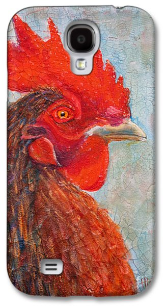 Yellow Beak Paintings Galaxy S4 Cases - Pompous Galaxy S4 Case by Mohamed Hirji