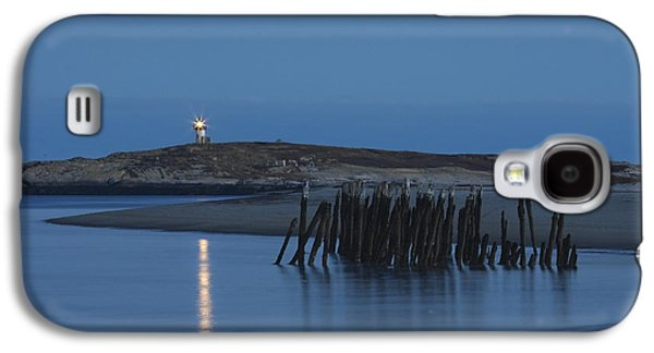 Historical Buildings Galaxy S4 Cases - Pond Island Lighthouse Kennebec River Maine Print Galaxy S4 Case by Keith Webber Jr