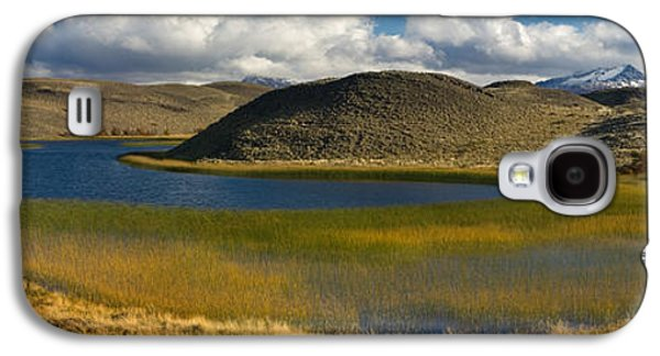 Pond In Park Galaxy S4 Cases - Pond With Sedges, Torres Del Paine Galaxy S4 Case by Panoramic Images