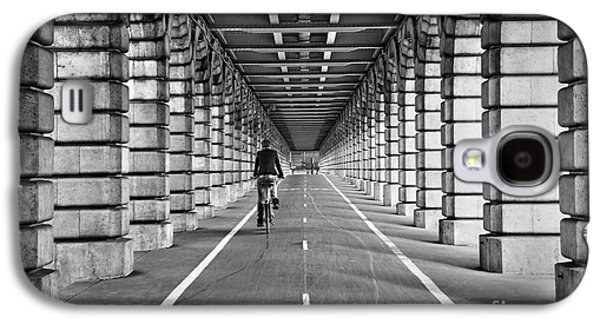 Symetry Galaxy S4 Cases - Pont de Bercy Galaxy S4 Case by Delphimages Photo Creations