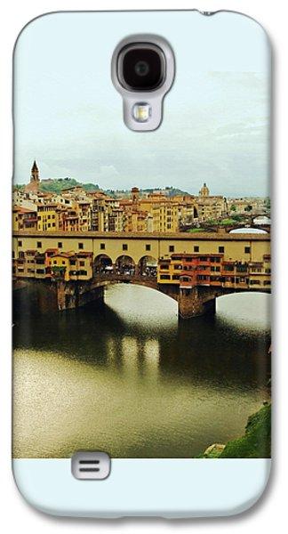 Boaters Galaxy S4 Cases - Ponte Vecchio 2 Galaxy S4 Case by Ellen Henneke