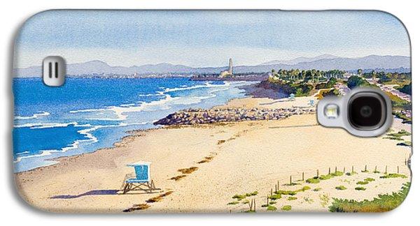 California Beaches Galaxy S4 Cases - Ponto Beach Carlsbad California Galaxy S4 Case by Mary Helmreich