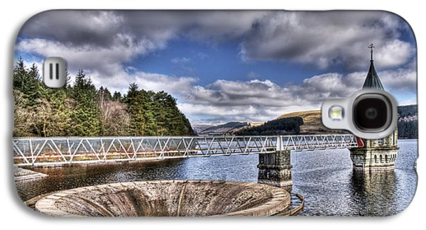 Sink Hole Galaxy S4 Cases - Pontsticill Reservoir 2 Galaxy S4 Case by Steve Purnell