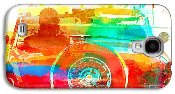 Surtex Licensing Galaxy S4 Cases - Red Convertible - Pop Art Car Galaxy S4 Case by Anahi DeCanio - ArtyZen Studios