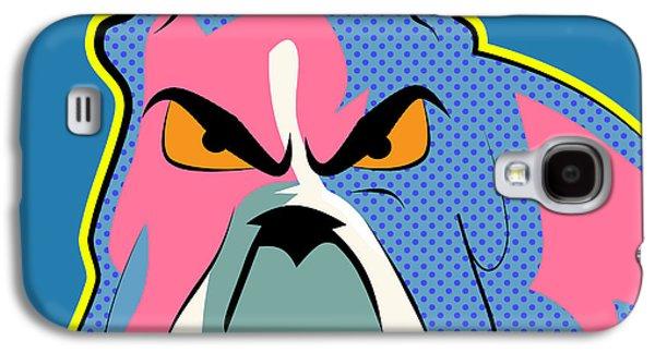 Pop Art Dog  Galaxy S4 Case by Mark Ashkenazi