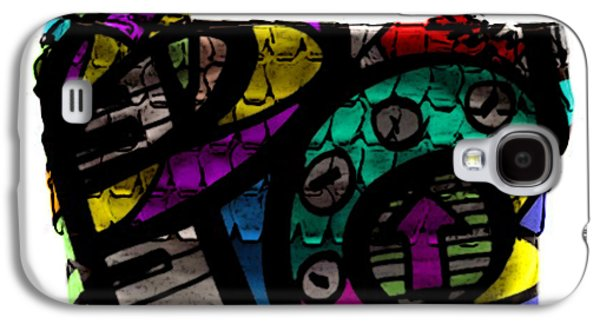 Pop Art Hand Bag Painting Galaxy S4 Case by Marvin Blaine