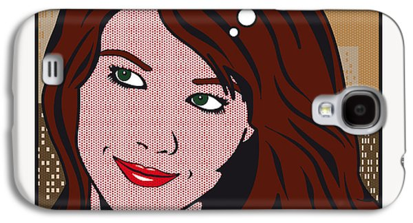 Pop Art Porn Stars - Mia Sollis Galaxy S4 Case by Chungkong Art