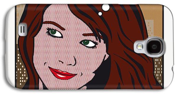Sex Digital Galaxy S4 Cases - Pop Art Porn Stars - Mia Sollis Galaxy S4 Case by Chungkong Art