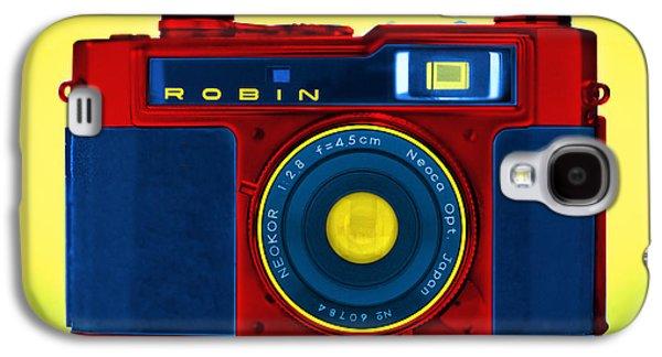 Rangefinder Galaxy S4 Cases - PoP aRt RoBiN Galaxy S4 Case by Mike McGlothlen