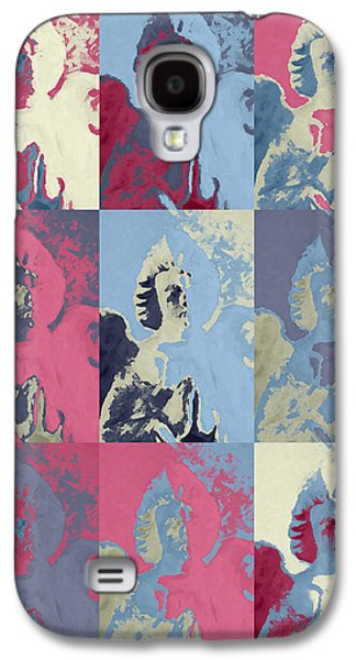 Innocence Mixed Media Galaxy S4 Cases - Popart an angel Galaxy S4 Case by Toppart Sweden