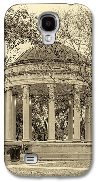Architecture Metal Prints Galaxy S4 Cases - Popp Bandstand sepia Galaxy S4 Case by Steve Harrington