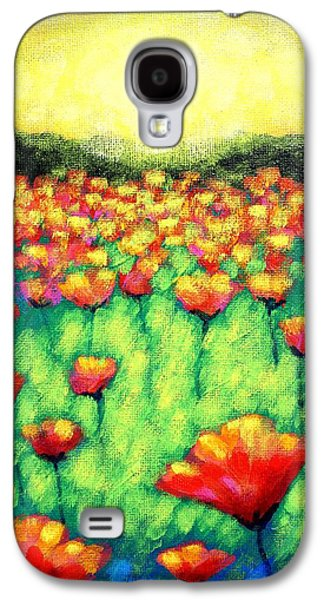 Edition Galaxy S4 Cases - Poppies At Twilight    cropped version Galaxy S4 Case by John  Nolan