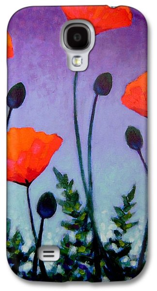 Edition Galaxy S4 Cases - Poppies In The Sky II Galaxy S4 Case by John  Nolan