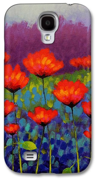 Edition Galaxy S4 Cases - Poppy Meadow   cropped Galaxy S4 Case by John  Nolan