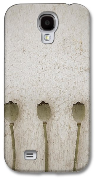Agronomy Galaxy S4 Cases - Poppy Seed Galaxy S4 Case by Maria Heyens