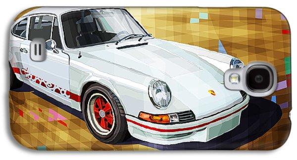 911 Galaxy S4 Cases - Porsche 911 RS Galaxy S4 Case by Yuriy Shevchuk