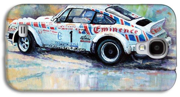 911 Galaxy S4 Cases - Porsche 911 SC  Rallye Sanremo 1981 Galaxy S4 Case by Yuriy Shevchuk