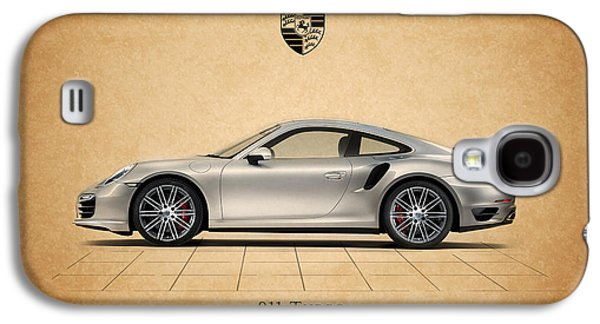 Classic Cars Photographs Galaxy S4 Cases - Porsche 911 Turbo Galaxy S4 Case by Mark Rogan