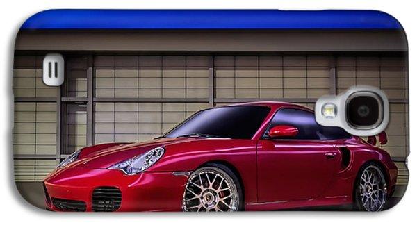 911 Galaxy S4 Cases - Porsche 911 Twin Turbo Galaxy S4 Case by Douglas Pittman