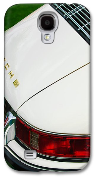 Transportation Photographs Galaxy S4 Cases - 1967 Porsche 911S Taillight Emblem Galaxy S4 Case by Jill Reger