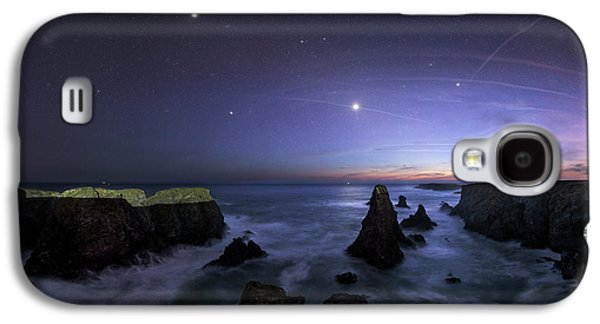 Port Coton Needles At Dusk Galaxy S4 Case by Laurent Laveder