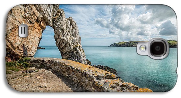 Industrial Digital Galaxy S4 Cases - Porth Wen Arch Galaxy S4 Case by Adrian Evans