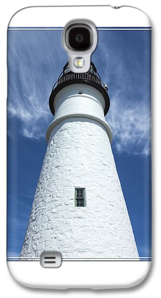 Maine Lighthouses Galaxy S4 Cases - Portland Head Light Galaxy S4 Case by Mike McGlothlen