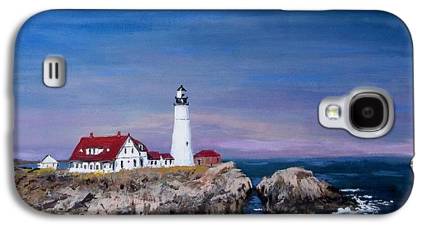 Jack Skinner Galaxy S4 Cases - Portland Head Lighthouse Galaxy S4 Case by Jack Skinner