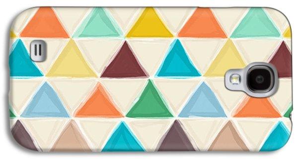 Portland Triangles Galaxy S4 Case by Sharon Turner