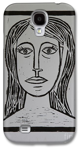 Portrait A La Picasso Galaxy S4 Case by Christiane Schulze Art And Photography