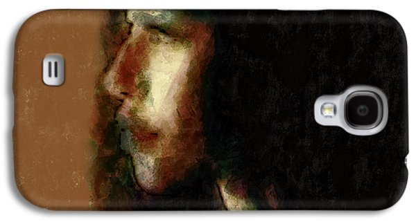 African-american Galaxy S4 Cases - Portrait In Sepia Tones  Galaxy S4 Case by Jeff  Gettis
