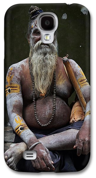 Accomplice Galaxy S4 Cases - Portrait o Sadhu III Galaxy S4 Case by Gilles Lougassi