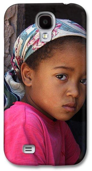 Portrait Of A Berber Girl Galaxy S4 Case by Ralph A  Ledergerber-Photography