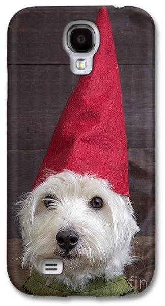Elf Photographs Galaxy S4 Cases - Portrait of a garden gnome Galaxy S4 Case by Edward Fielding