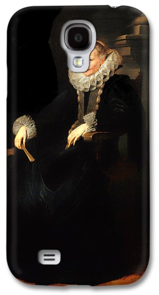 Portrait Of A Genovese Lady Galaxy S4 Case by Mountain Dreams